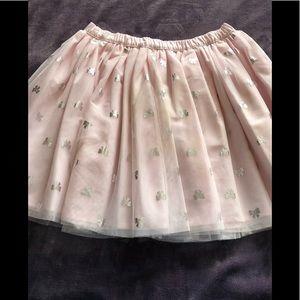 Girls pink skirt.